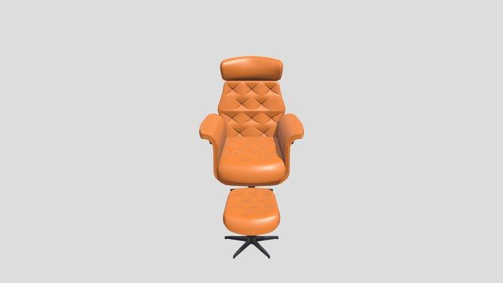 Chesterfield sofa model 3D Model