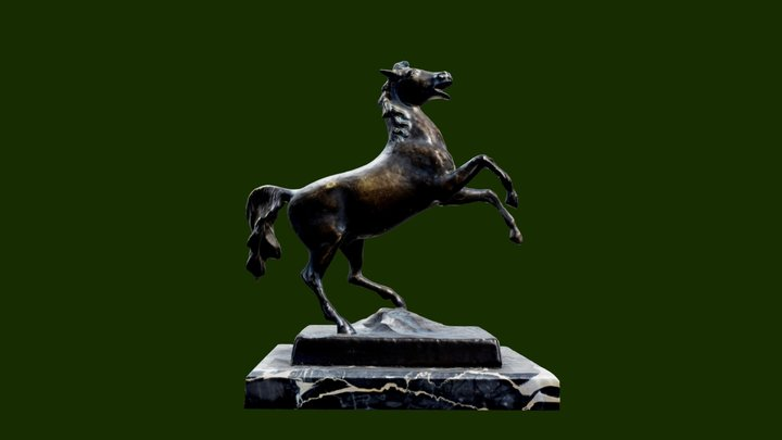 Lower Saxony horse - Coat of arms 3D Model