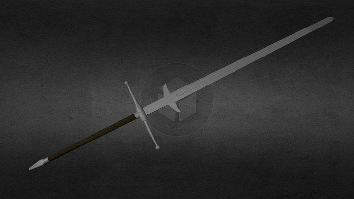 Two Handed Great Sword 3D Model