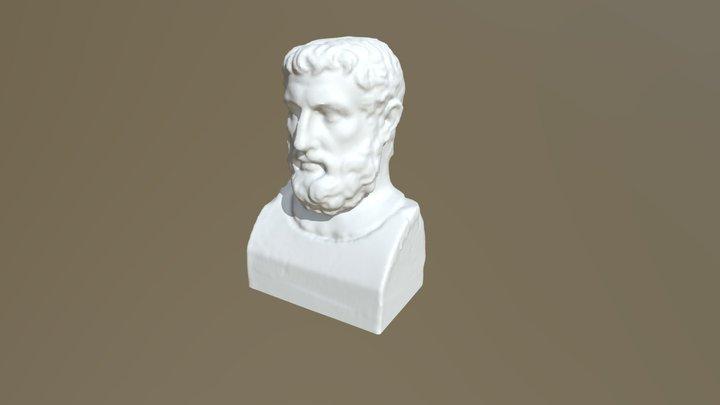 Busto di Parmenide 3D Model
