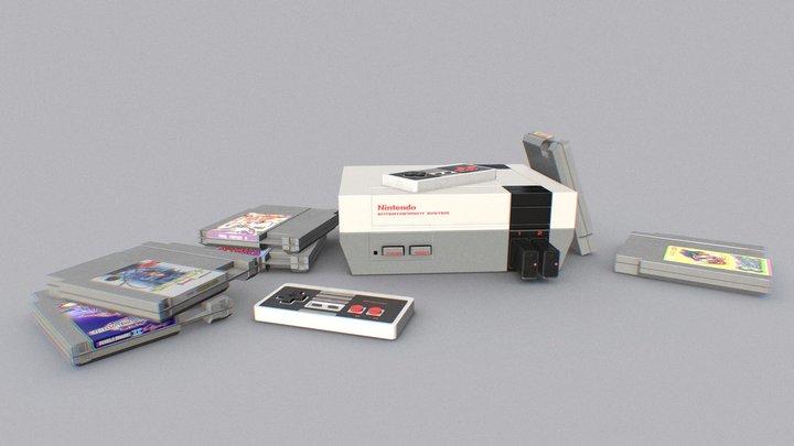 NES 3D Model