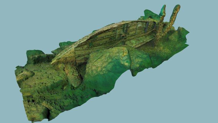 Canot de la carrière Kahnawake 3D Model
