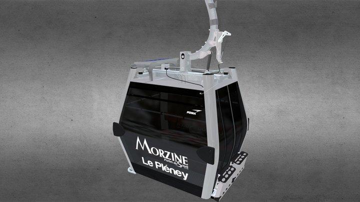 Cabine Diamond 003 3D Model