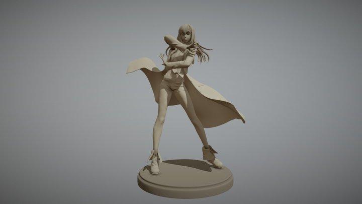 Steins;Gate - Kurisu 3D Model