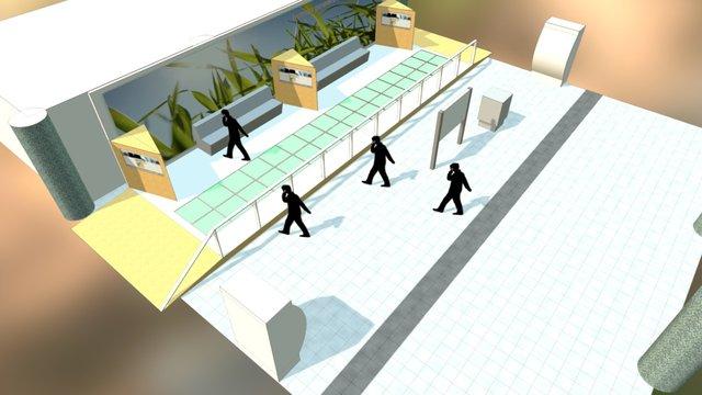 Energy Floors 3D Model
