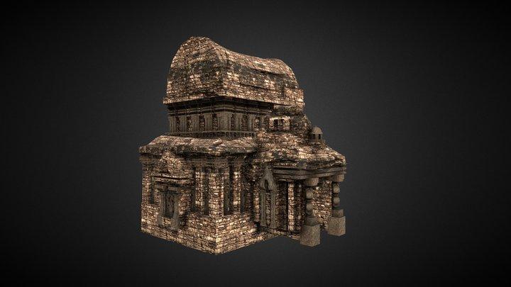 Lumbung Temple 3D Model