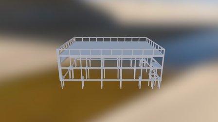 Barracão Comercial 3D Model