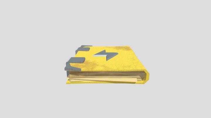 GART130 Spell Book [FIN] 3D Model