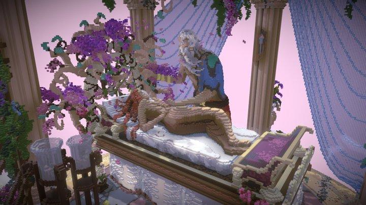 Peirasmos Voxel Zeus and Aphrodite 3D Model