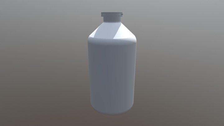 Inyectable 100ml Veterinario 3D Model