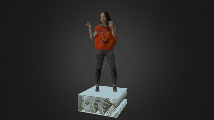 Courtney 3D Model