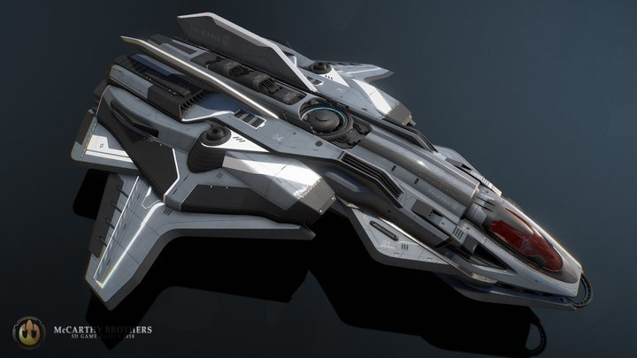 Valkyrie 3D Model