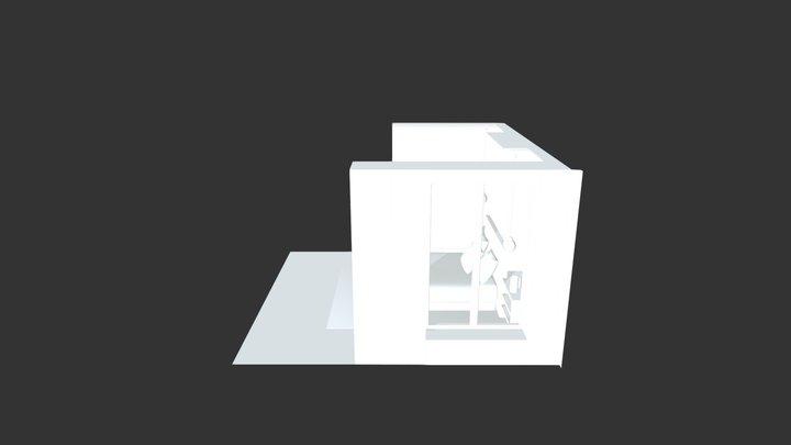Tete de lit 3D Model
