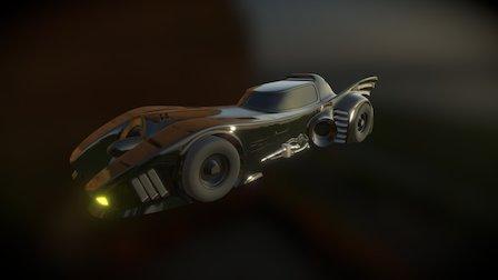 Batmobile 1989 3D Model