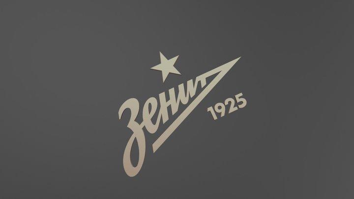 Logo Zenit 3D Model