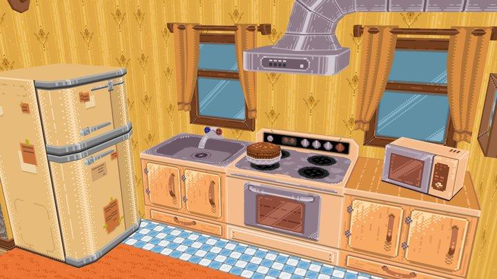 Toriel's Kitchen (Deltarune) 3D Model