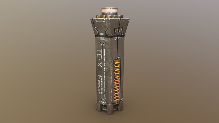 Thermal Clip (Mass Effect Fan Art) 3D Model