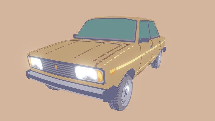 Lada 2105 3D Model