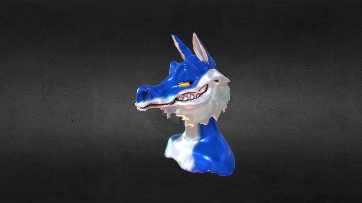 J.P. Mallory Bust 3D Model