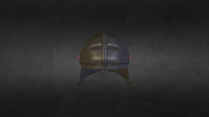 Test Helmet 3D Model