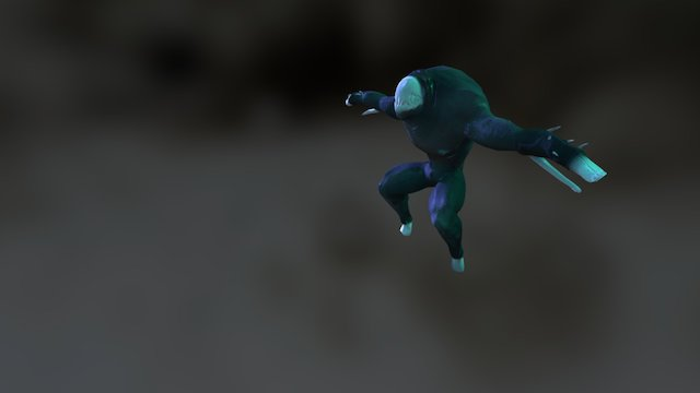 Evil Bamby Low 3D Model