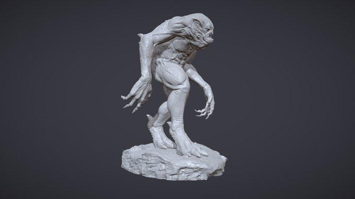 Creature - 3D Print Ready 3D Model