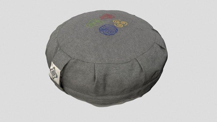 Meditation Pillow 3D Model