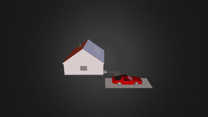 multimeedia maja 3D Model