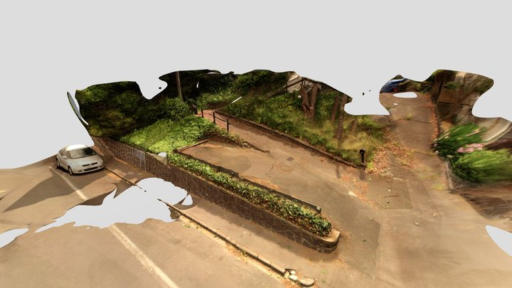 Road Out Front 3D Model