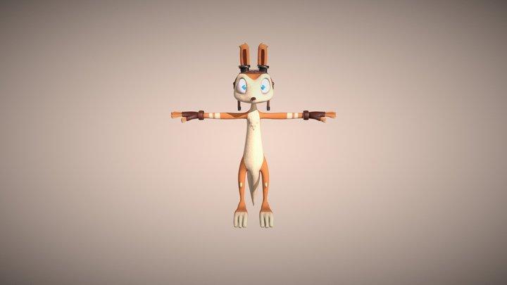 Daxter Jack and Daxter 3D Model