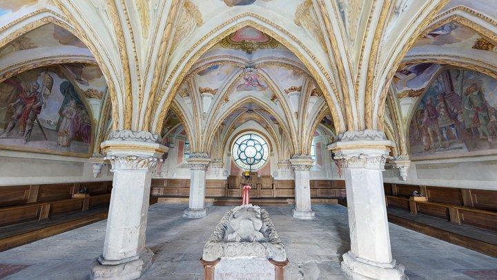 Kapitelsaal 3D Model