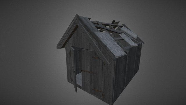 Woodshed 3D Model