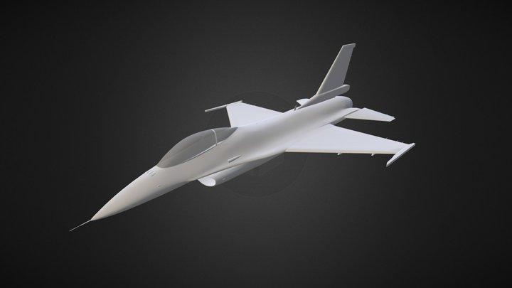 F-16C (Clean) WIP 3D Model