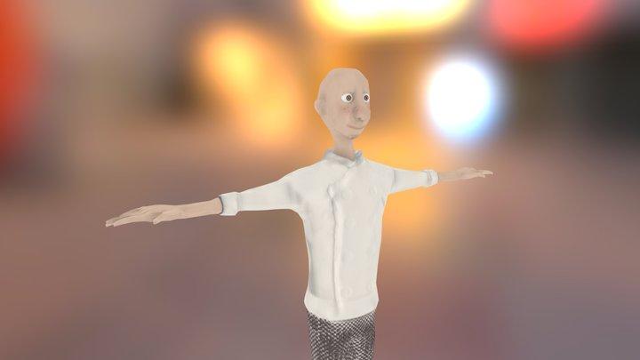 IGE_Modelat_i_textura_personatge 3D Model