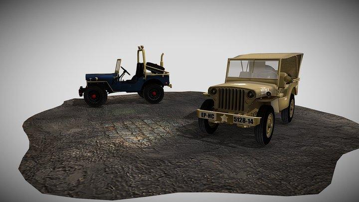 Jeeps (Vijoyanto George) 3D Model
