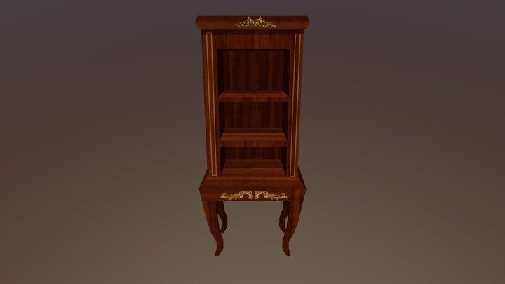 Victorian Display Cabinet 3D Model