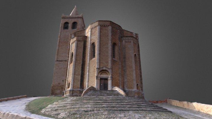 Santa Maria della Rocca - Offida 3D Model