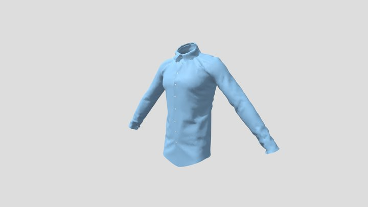Shirt made with marvelous 3D Model