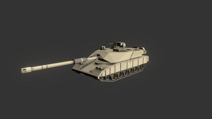 tank\\\\ 3D Model