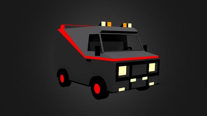 A-Team van 3D Model