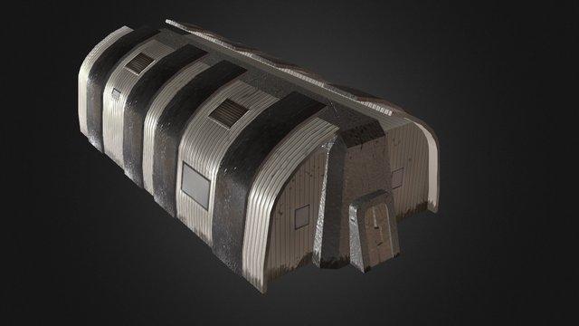 Barrack Building 3D Model