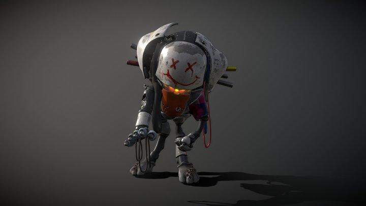 Bean Bot 3D Model