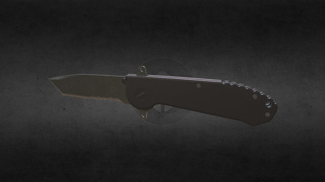 Tactical Knife 3D Model