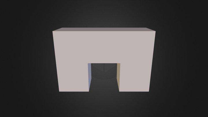Demo White Part 3D Model