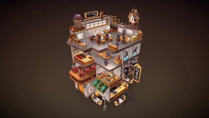Cat corporation 3D Model