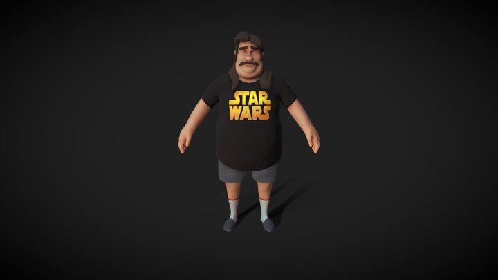 Patrick, The FatBoy 3D Model