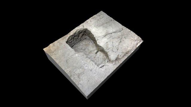 Struttura subquadrangolare, settore XII 3D Model