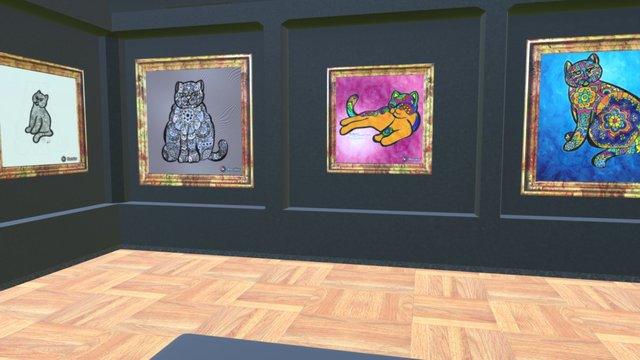 Instamuseum for @oscarenfotos 3D Model