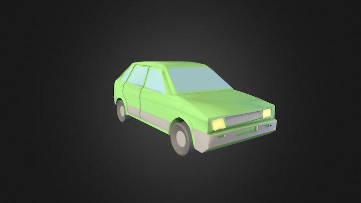 Seat Ibiza 5 doors rev. 1 3D Model