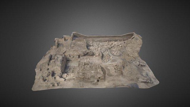 The Western High Gate of Medinet Habu 3D Model